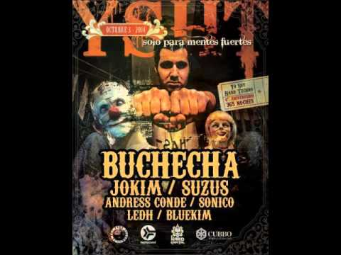 Buchecha @ Yo Soy Hard Techno - 4th Bday - Bogota - Colombia   03.10.2014