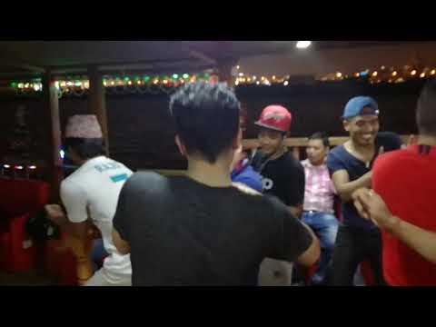 Fast dansing on bord doha qatar