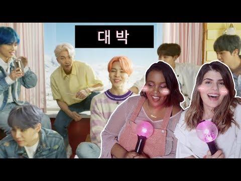 [한글자막] BTS (방탄소년단) '작은 것들을 위한 시 (Boy With Luv) feat. Halsey' Official MV 리액션