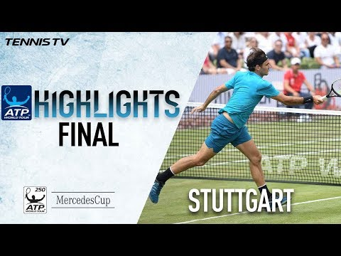 Highlights: Roger Federer Raises Trophy No. 98 In Stuttgart