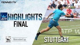 Highlights: Roger Federer Raises Trophy No. 98 In Stuttgart 2018