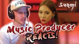 Music Producer Reacts to SUNMI(선미) _ Siren(사이렌)
