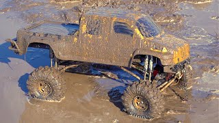 """Project """"OVERKiLL"""" 2020 - MUD SOUP, WiNCH ACTiON - BOGGiNG GMC TOP KiCK TRUCK: PT 13 