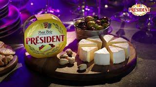 "Рекламный ролик сыра Brie President ""Вечеринка в стиле Brie"" от компании Lactalis. Продакшн ВИЛКА."