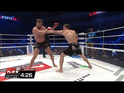 Viktor Nemkov vs Stephan Puetz | M-1 Challenge best moments 2015