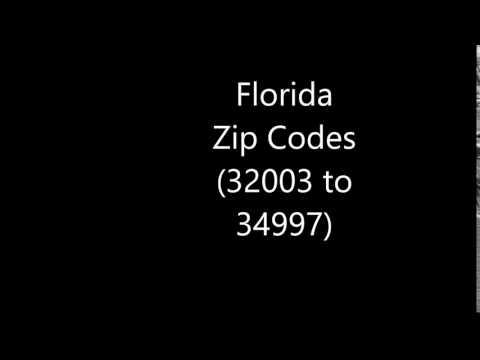 Florida Zip Codes