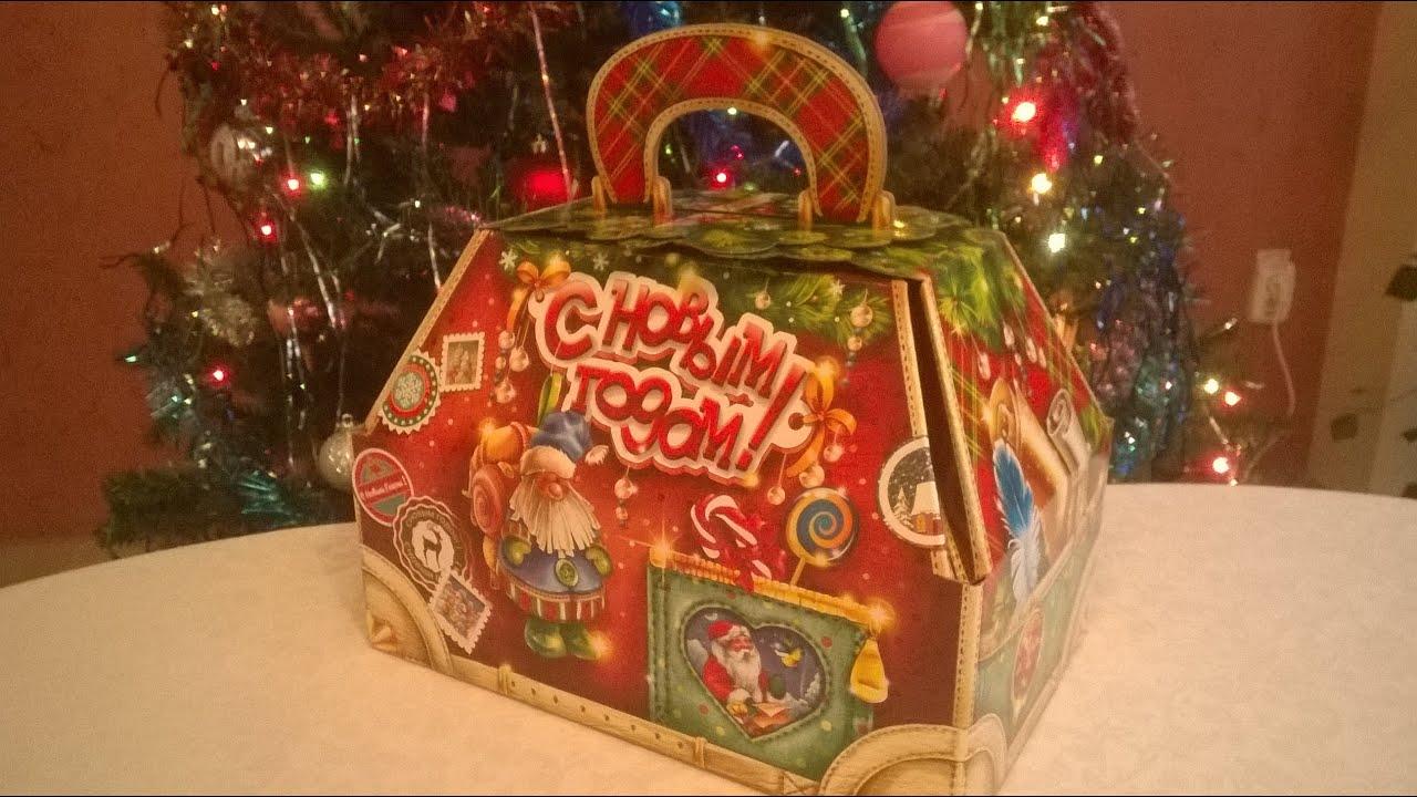 Детский новогодний подарок вложение