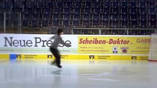 Eiskunstlaufen Hannover Theo Training to Skyfall Figure Skating
