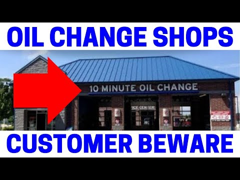 Quick Oil Change Shop Horror Stories!