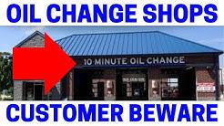 Fast Oil Change Shop Epic Fails!  (Must Watch)