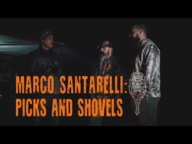 Marco Santarelli: Picks and Shovels