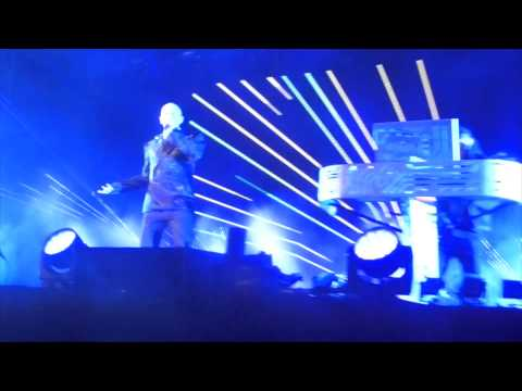 Pet Shop Boys live at Atlantis the Palm - Dubai 09 May 2014
