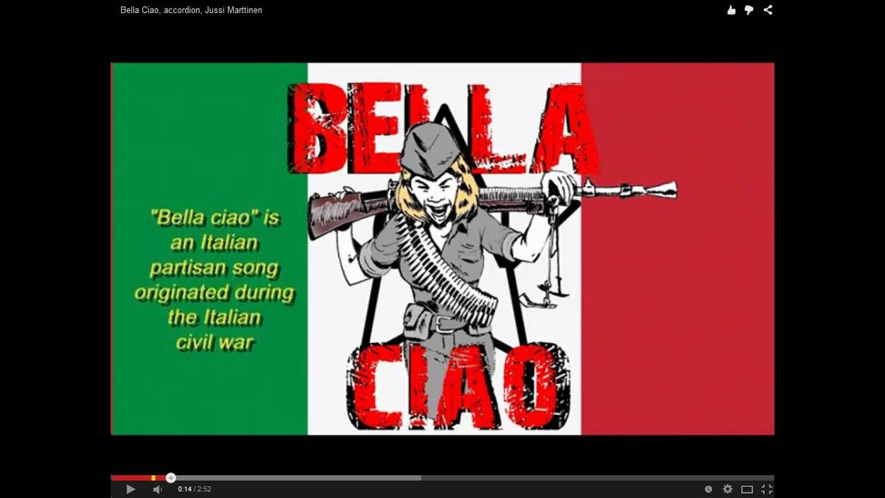 Bella ciao accordion jussi marttinen youtube for Ciao youtube