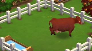 Devon Cow - FarmVille 2