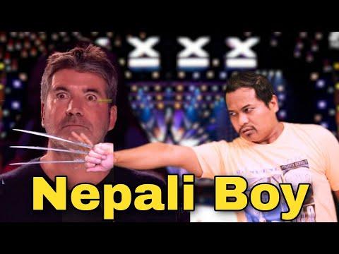 Americas Got Talent ( NEPALI BOYS ) Performance Magic Power || Vtm Gaule 2020
