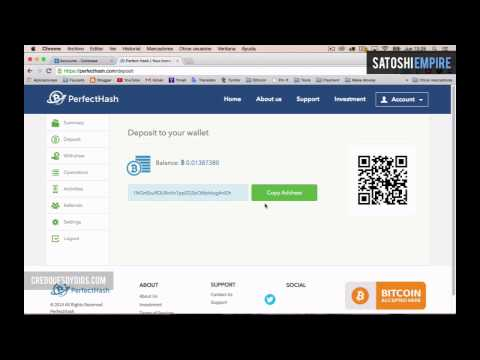 Gana Bitcoins Con Perfect Hash 5º PAGO Payment Proof