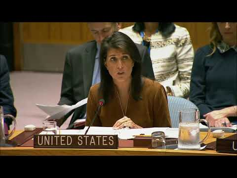 Remarks at a UN Security Council Open Debate on the Middle East