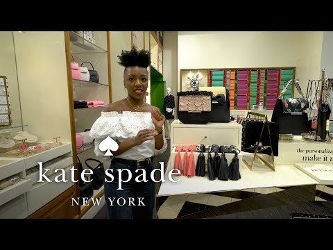 niesha's top picks | march new arrivals | talking shop with niesha | kate spade new york