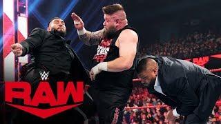 AOP viciously attack Kevin Owens: Raw, Nov. 25, 2019
