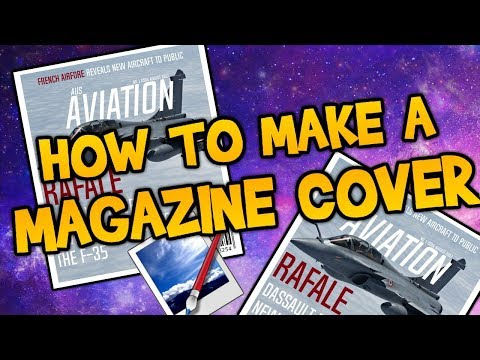Paint.net - How To Make a Magazine Cover (Tutorial)