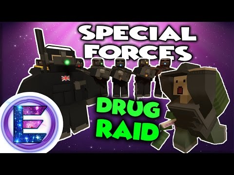 SPECIAL FORCES (S.A.S) DRUG RAID !? -  DARK RP - Unturned Roleplay