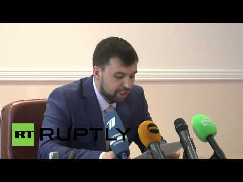 Ukraine: DPR applies for accession to Russian Federation