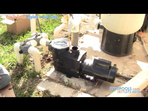 How To: Replace a Pool Pump With an Energy Efficient Pool Pump