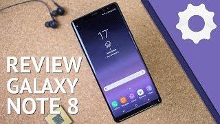 Galaxy Note 8 - Review/análise - O melhor smartphone da Samsung... em 2017