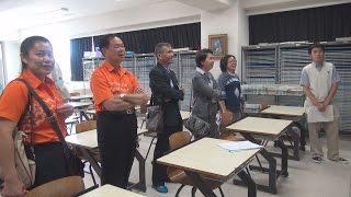 タイの教育関係者が土浦日大を視察