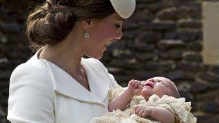 Princess Charlotte makes second public appearance