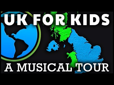 United KIngdom Song For Kids | Facts About the UK Countries | KS1 & KS2