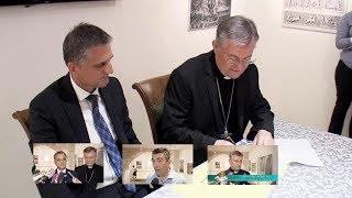 Split: Potpisivanje Ugovora o palači Skočibušić između nadbiskupije i Vlade RH