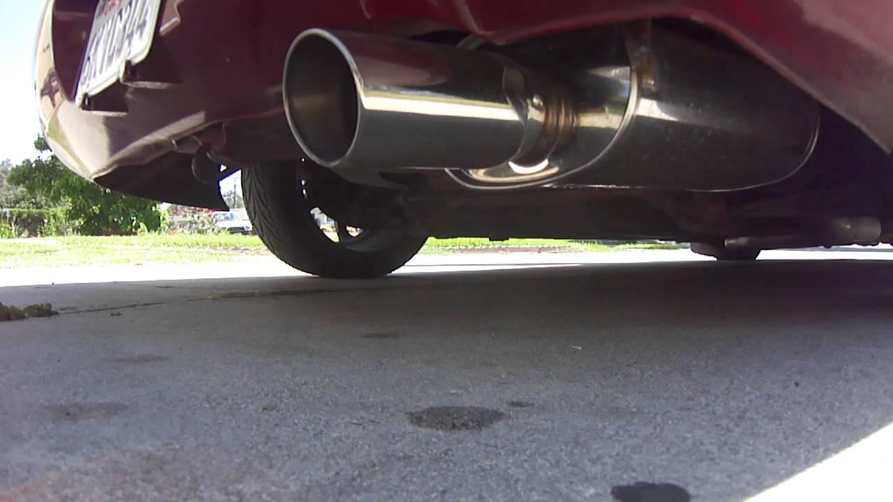 Acura Integra Ls Non Vtec Apexi WS Exhaust YouTube - 1994 acura integra exhaust system