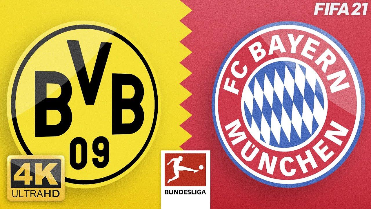 Borussia Dortmund – FC Bayern München · Bundesliga Topspiel Highlights · BVB - FCB · 4K UHD