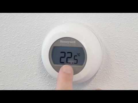 Round Modulation thermostaat instellen en gebruiken ...