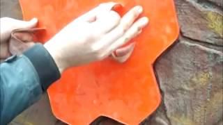 Производство Полиуретановый штамп для штукатурки .MP4(, 2013-04-14T03:40:21.000Z)