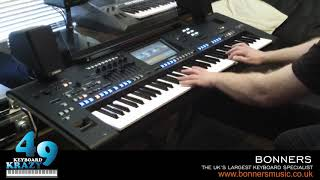 Paladins Quest / Lennus - Godom Lullaby Played On Yamaha Genos