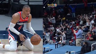 Russell Westbrook got a standing ovation after he did this | Wizards vs Pacers