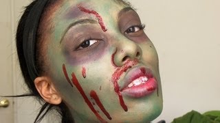 Halloween Makeup: Human-Eating Zombie Tutorial Thumbnail