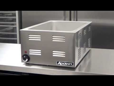 Adcraft's FW-1200W Full Size Food Warmer, 120V, 1200W, 10 Amps