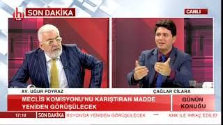 Gizli Tanık Gerçeği / Çağlar Cilara ile Günün Konuğu - Av.Uğur Poyraz / 07.11.2018