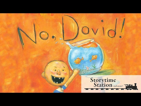 No, David! By David Shannon   Books for kids read aloud!