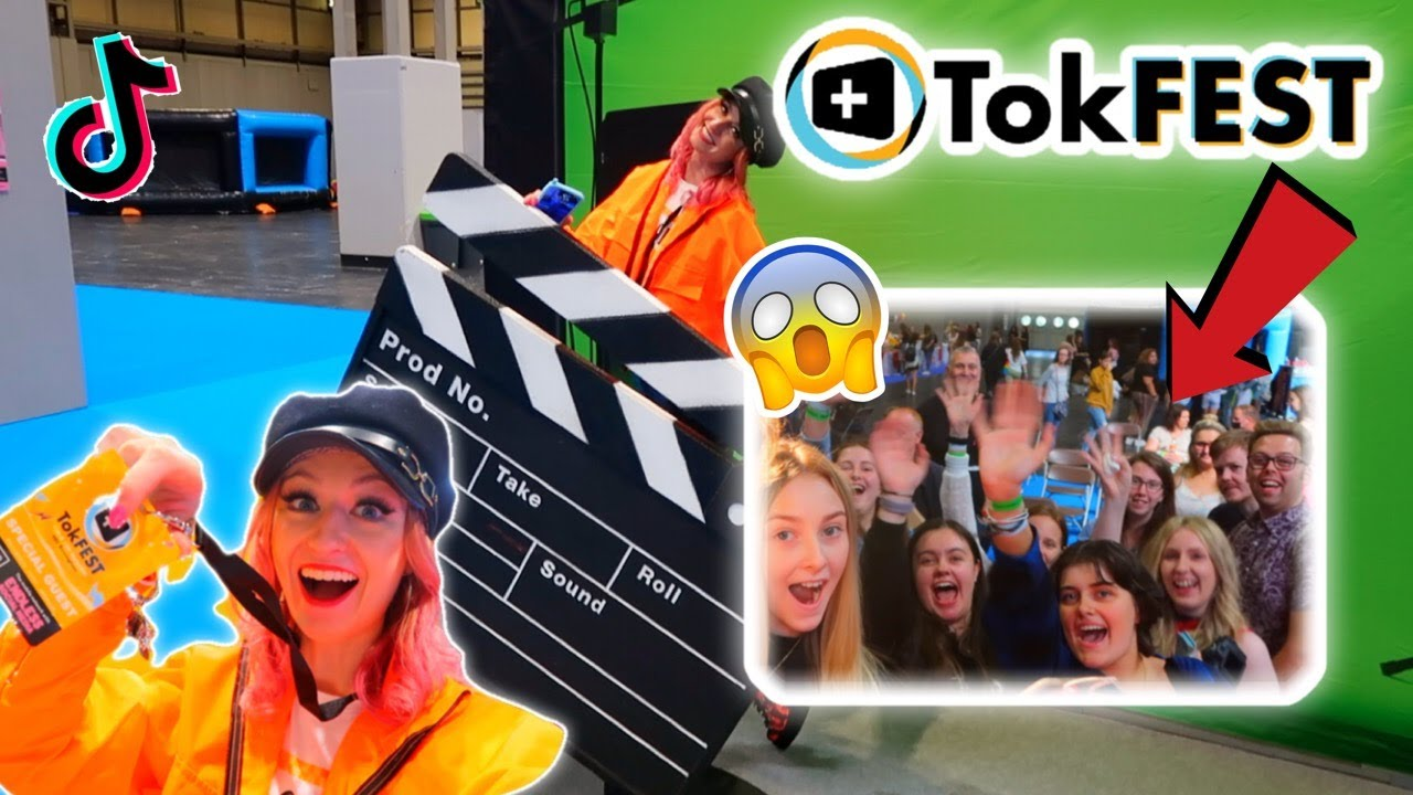 MEETING 100 FAMOUS TIKTOKERS AND A 1000 FANS IN 24 HOURS?!😱✨TOKEST VLOG 2021!!🥳 *INSANE!!*💗