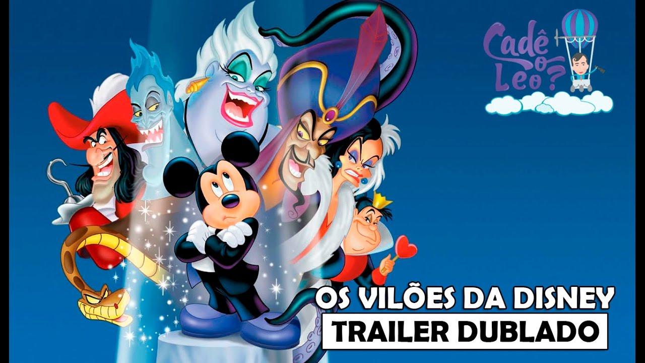 OS VILÕES DA DISNEY | Trailer do DVD & Vídeo (Dublado