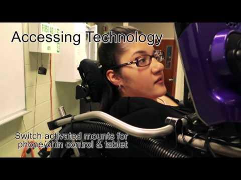 Q-Logic 2 - Assistive Technology for Quantum Rehab® Power Chairs