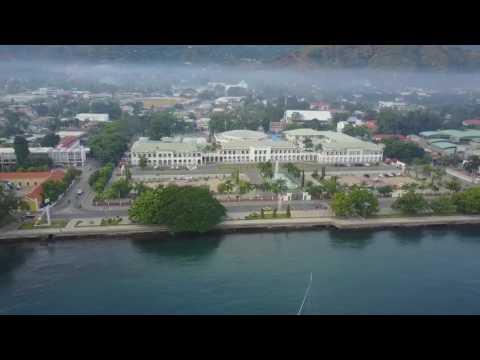 Pemandangan d kota Dili TIMOR LESTE