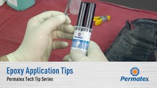 Epoxy Application Tips: Permatex Tech Tip Series
