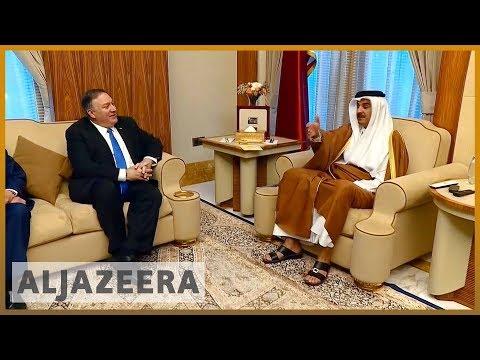 🇺🇸 US secretary of state calls on Gulf states to end dispute   Al Jazeera English