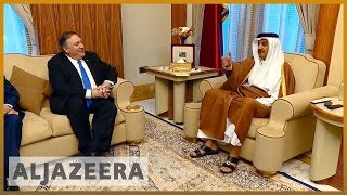 🇺🇸 US secretary of state calls on Gulf states to end dispute | Al Jazeera English