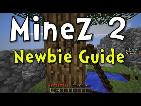 Minecraft MineZ 2 - Newbie Guide & Basic Crafting Tutorial!